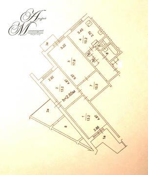 Комната в трёхкомнатной на Лебедянской 22к1 - Фото 1