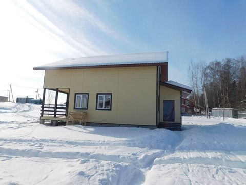 Межозерье. Новый коттедж ( дом ) для ПМЖ в деревне у озера - Фото 2