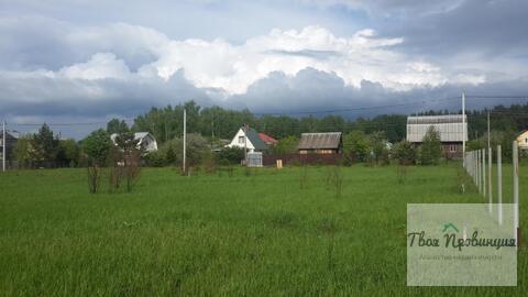 Участок 12 соток под прописку в селе Ивановское Ступинского района - Фото 2