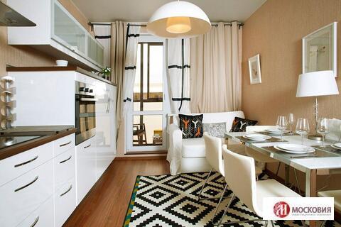 1-комнатная квартира (38.5)с отделкой, Новая Москва, 14км Калужское ш. - Фото 1