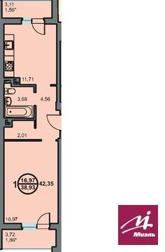 Продается 1ком кв ул Новоремесленная 13, Купить квартиру в Волгограде по недорогой цене, ID объекта - 321745394 - Фото 1