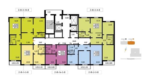 Продажа квартиры, м. Улица Дыбенко, Невский район - Фото 2
