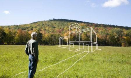 Продажа земельного участка 1 гектар, собственность, первая линия