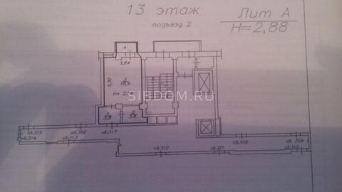 Продам студию 28 кв.м. Соколовская 80а