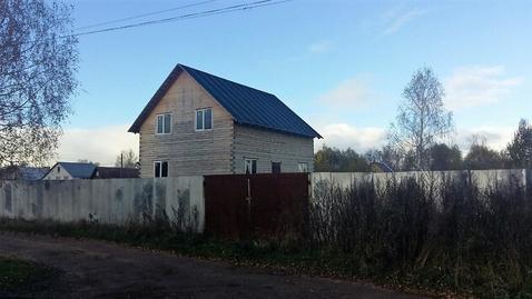 Продается не достроенный дом на 10 сотках земли в городе Кимры. - Фото 1