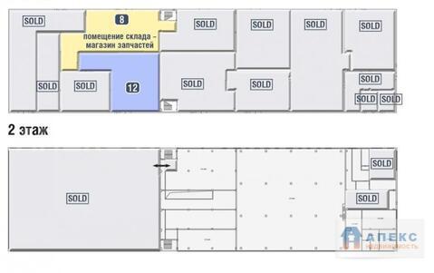 Продажа помещения пл. 520 м2 под склад, производство, м. Люблино в . - Фото 4