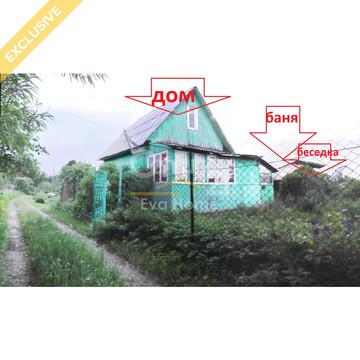 Продается дом, баня, земельный участок в к/с в п. Растущий - Фото 1