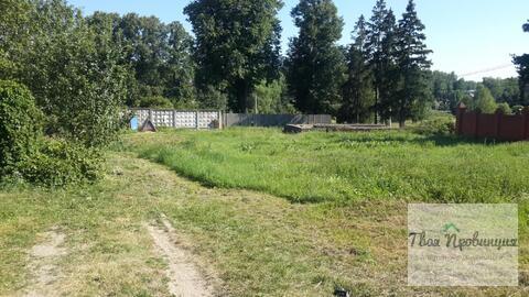 Участок 22 сотоки у реки Лопасня в деревне Бекетово Ступинский район - Фото 1