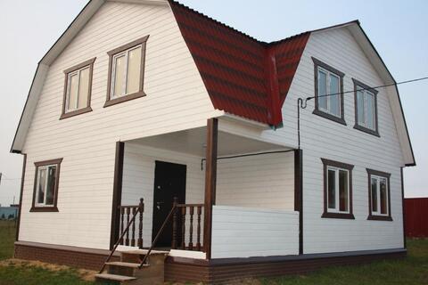 Новый дом (ИЖС) в деревне Киржачского района - Фото 1
