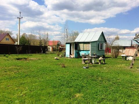 Земельный участок 12 соток с дачным домиком в Домодедовском р-не. - Фото 2