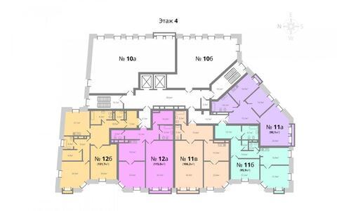 Жилой комплекс «Каретный Плаза». Элитные апартаменты 90,9 кв. м. - Фото 5