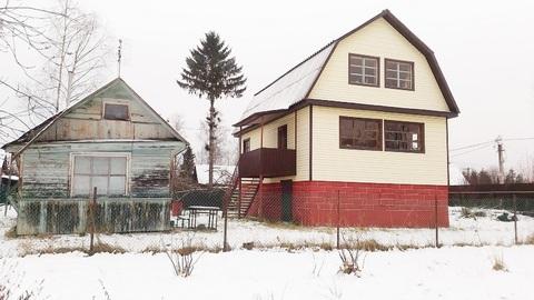 Дом из бруса для круглогодичного отдыха вблизи Ладожского канала. - Фото 1