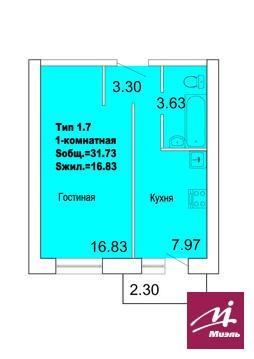 Продажа новостройки в ЖК Уютный р.п. Городище - Фото 2