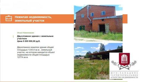 Продается двухэтажное нежилое здание площадью 1330,9 кв.м. Детчино