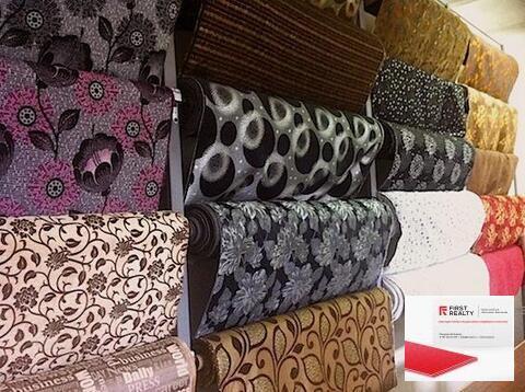 Оптовая продажа мебельных тканей и здание в собственности