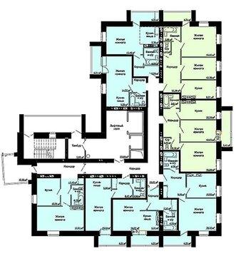 Продажа 1-комнатной квартиры, 33.7 м2, г Киров, Ярославская, д. 32 - Фото 2