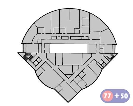 Общая площадь 1975, 9 кв.м (1512,4 кв.м