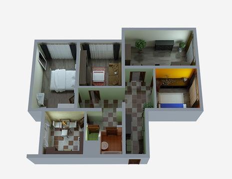 4-х комнатная квартира Алтуфьевское ш.96 - Фото 1