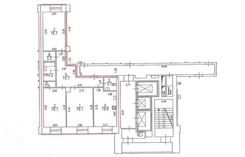 Трехкомнатная квартира в новом доме на с ремонтом, мебелью и техникой - Фото 3