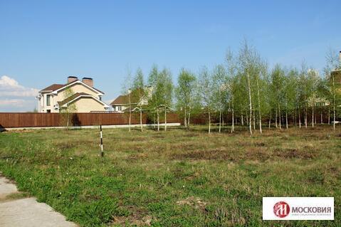 Участок 12,4 сотки в охраняемом поселке у леса, 27 км по Калужскому ш. - Фото 4