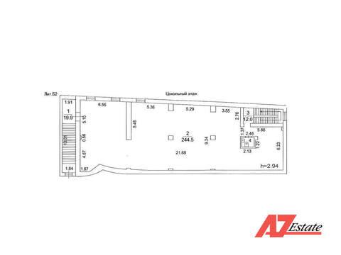 Аренда, 244 кв. м, цокольный этаж в Торговом центре, МО, Молоково - Фото 2