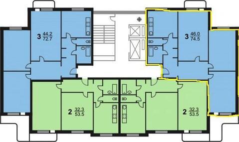 3-ком. квартира Олимпийский проспект, д. 26 стр 1 - Фото 4