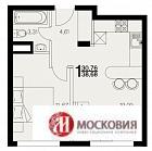 Квартира, 1 комната, 39 кв.м, Киевское ш, 24 км.от МКАД - Фото 2