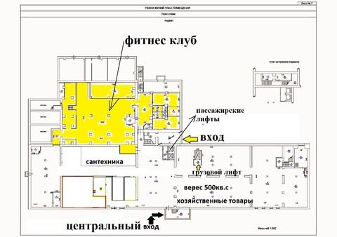 Сдаётся площадь фитнес клуба - 681 кв.м. на ул. Полтавская - Фото 2