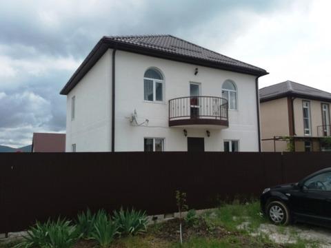 Купить дом двухэтажный новый в Новороссийске - Фото 1
