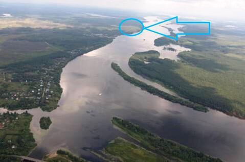 Земельный участок 17га под строительство на берегу Волги - Фото 1