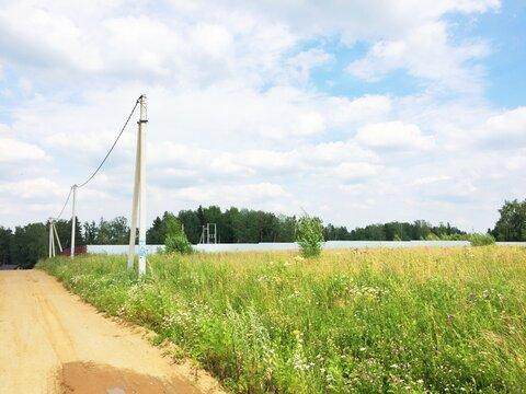 Участок 20 сот. с панорамным видом в д. Сурмино, 39 км от МКАД - Фото 1