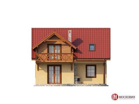 Современный дом 112 м2 на участке 12 с, 25 км от МКАД, Варшавское ш - Фото 1
