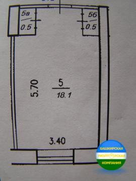 Комната 19 кв.м. Короленко 2 - Фото 2