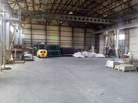 Холодный склад 560 кв.м. с кран-балкой в Цемдолине. - Фото 3