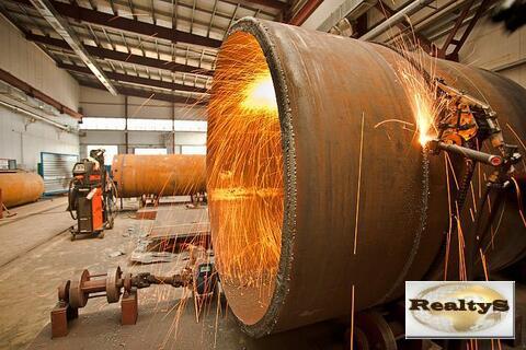 Сдается производственное помещение площадью 950м2 кран-балки 10т. - Фото 2