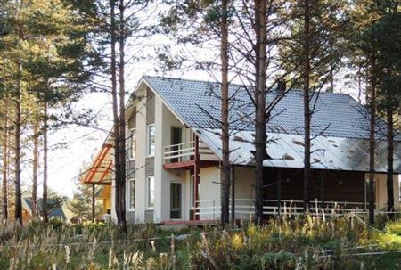 Двухэтажный дом в чудесном коттеджном поселке - Фото 1