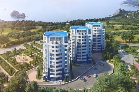 Продам квартиру в новом доме Крым, Ялта, пгт Гурзуф - Фото 1
