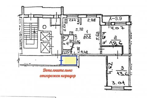 Продажа квартиры, м. Ладожская, Индустриальный пр-кт. - Фото 4