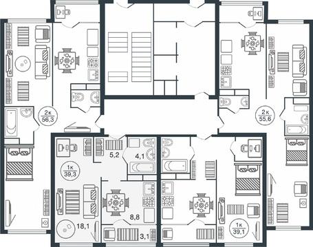 Квартира в новом жилом комплексе! - Фото 3