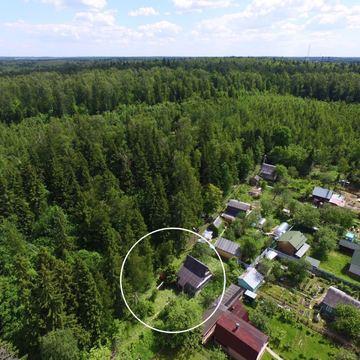 Дача на прилесном участке 7 соток в 33 км. по Ленинградскому шоссе. - Фото 1