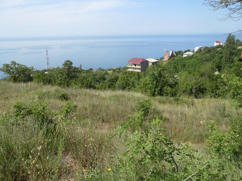 Продам земельный участок 8 сот. г. Ялта, пос. Бекетово. Вид на море. - Фото 3