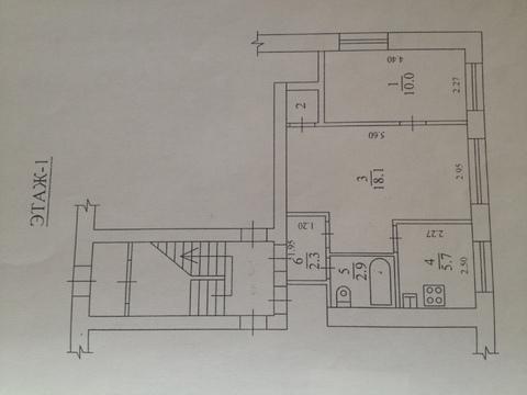 2 комнатная квартира 45 м. Щелковский р-н, Свердловский, Заводская, 12 - Фото 3