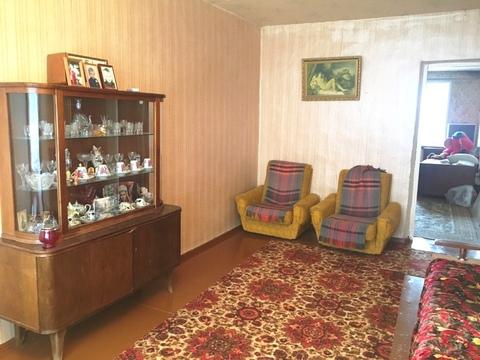 3-х комнатная квартира общ.пл 60 кв.м.3/3 кирп дома в г.Струнино - Фото 1
