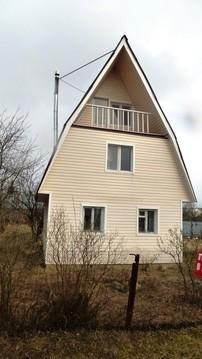 Дом 105м2 на участке 9 соток в д. Полушкино 50 км от МКАД по м4 - Фото 1