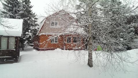 Дом 120 кв.м, Участок 8 сот. , Калужское ш, 20 км. от МКАД. - Фото 1