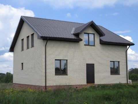Продам новый кирпичный дом у воды в деревне Селинское - Фото 1