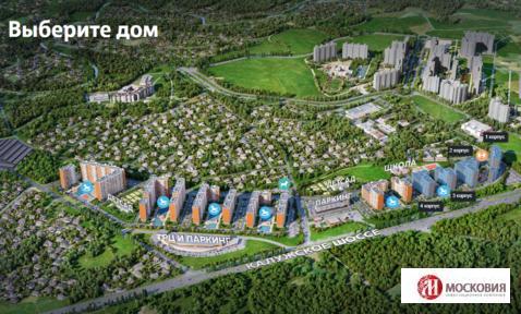 1к квартира 38м2 с отделкой, г.Москва, Калужское ш, 15 мин от м.Т.Стан - Фото 1