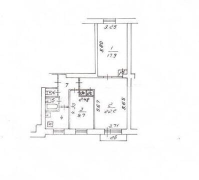 3-комнатная кв-ра, Новые Черемушки, ул. Гарибальди, д. 10к2