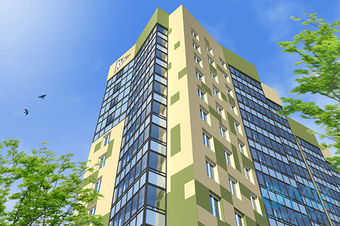 Продажа 2-комнатной квартиры, 55.09 м2 - Фото 1