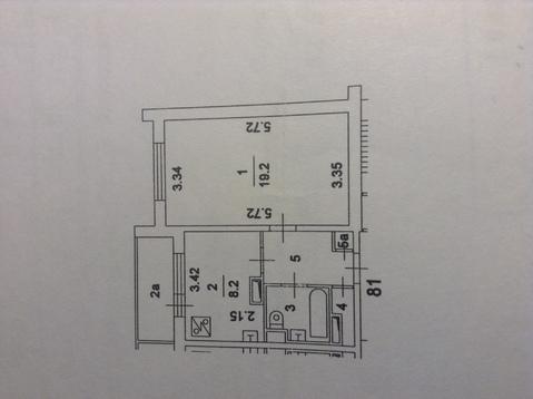 Продам 1 к.кв. квартиру 35 кв.м, Бибирево - Фото 2